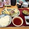 Tempurashokudouotafuku - 料理写真:海鮮天ぷら定食♪