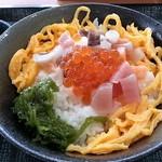 なか卯 - 海鮮バラちらしミニ 490円