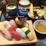 海座 - 平日限定ランチの寿司定食880円
