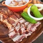 熊本パルコ コリアンBBQビアガーデン - コースのお肉
