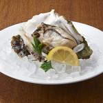 炭焼き&ワイン サンテ - 牡蠣の瞬間低温蒸し