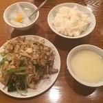 仙香園 - 肉野菜炒め(800円)