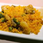 スペインクラブ銀座 - 豚肉、鶏肉、野菜パエリア