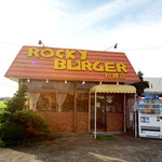 ロッキーバーガー - 外観も懐かしい雰囲気ですね。