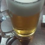 焼肉 房家 - 生ビール 税別280円