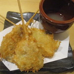 あっぱれ寿司 - 揚げ物3種