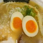 鶏そば 小箱 - 鶏煮込みそば:醤油♪(味玉トッピ)