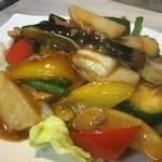 青葉 - 野菜マーボー880円 6種の野菜が入ります
