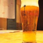 る主水 - ビールがうまい! \(^_^)/
