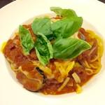 ブランディーノ - ナスとモツァレラチーズのトマトソース