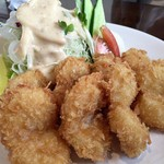 レストラン まなべ - 料理写真:ホタテフライ