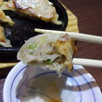 桂林餃子 - 桂林餃子断面図