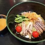 四川亭 - 料理写真:棒棒鶏冷麺\1000(16-07)