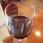54045239 - 赤グラスワイン