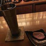 54045493 - 鴨肉(お通し)