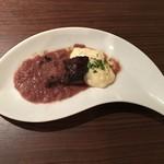 ワインレストラン ドミナス - サガリのシャリアピンステーキ