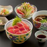 鶴亀庵 - 料理写真:ギンヒカリ丼定食