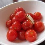 カフェ じゅえる - プチトマトのマリネ