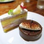 54051275 - 桃のショートケーキ、マドンナ