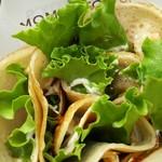 モミアンドトイズ - 照り焼きチキンサラダ