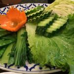 チャオタイ - 野菜の盛り合わせ