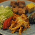 湘南茅ヶ崎 道 - ハーフバイキングのお総菜類