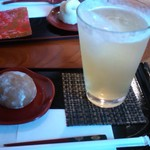 甘味茶蔵 真盛堂 - ランチセットの甘味