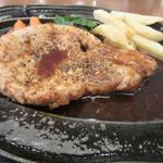 54065012 - 黒豚ステーキ単品(1,230円)