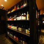 個室居酒屋 Serge源's - 充実のドリンク品揃え♪
