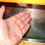 寿司龍 - いまでは懐かしい手洗いシャワー?