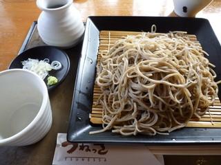 蕎麦小屋 つねっさ - せいろ蕎麦 650円+大盛り300円