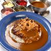 ブルーノ - 料理写真:国産粗挽きハンバーグカレー