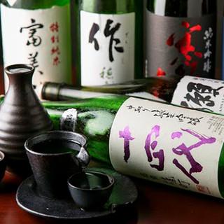 日本酒・焼酎プレミア多数