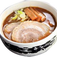 麺工房 武 - 超濃厚豚骨魚介つけ麺スープ