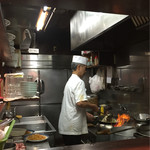 長崎菜館 - やっぱり炒め野菜は香ばしく美味しいです
