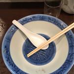 長崎菜館 - ご馳走様の完食です