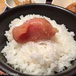 やまや - 鶏の唐揚げ明太風味定食(1000円税込)16.7月
