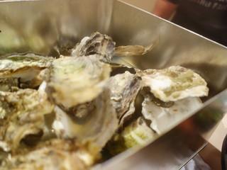 気まぐれ厨房会津わいがや - 牡蠣のカンカン焼き(これで5人分)