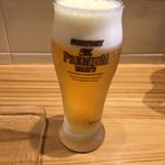 カジュアル割烹 Shun - プレミアムモルツグラス350円