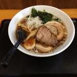 54078446 - ラーメン(醤油/並)/全部のせ(680円/200円)