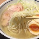 54079376 - 白い中細ストレート麺