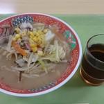 福岡地方裁判所食堂 - ちゃんぽん! 胡椒は自分でかけました。