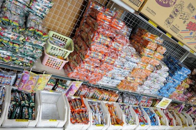 日本 一 の 駄菓子 屋