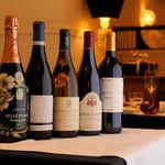 レザンファン ギャテ - フランスワインを中心にご用意いたしております