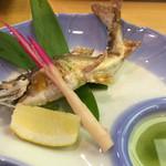 大八寿司 - 鮎の塩焼き