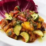 色々野菜のトマト煮込み〝カポナータ〟