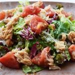 ツナとトマトのニース風サラダ