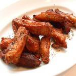 チキンウィングのフリット 黒胡椒風味