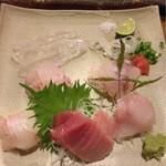 山文魚 - 刺身盛り合わせ
