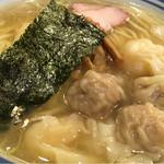麺屋はやしまる - ミックスわんたん・塩・大盛(1,080円)